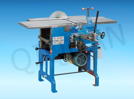 ML392、ML392A台式平压刨木工联合机床